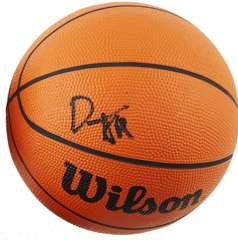 JOE SMITH - SIGNED OFFICIAL WILSON MINI-BASKETBALL