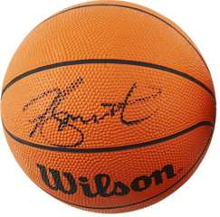 DAMON STOUDAMIRE - SIGNED OFFIC. WILSON MINI-BASKETBALL