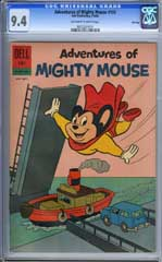 ADVENTURES OF MIGHTY MOUSE #155 (1962) CGC NM 9.4 OWWpg