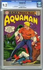 AQUAMAN #31 (1967) CGC 9.2 COW Pgs NICK CARDY cover/art