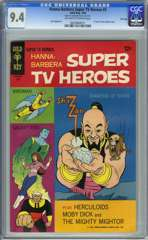 HANNA-BARBERA SUPER TV HEROES #2 (1968)CGC 9.4 OWW FILE