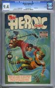 HEROIC COMICS #57 (1949) CGC NM 9.4 COW Pgs - HIGHEST!