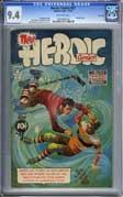 HEROIC COMICS #57 (1949) CGC NM 9.4 COW Pgs - HIGHEST!