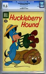 HUCKLEBERRY HOUND #10 -1961 CGC NM+ 9.6 Highest Graded!