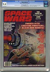 SPACE WARS #5  (1978) CGC NM 9.4 OWW  Pages - STAR WARS