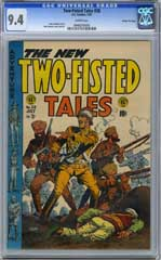 TWO-FISTED TALES #38 (1954) CGC NM 9.4 WHT Pg - GAINES
