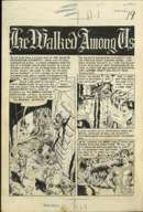 "WALLY WOOD -WEIRD SCIENCE #13 CMPLT 6-PG ""HE WALKED AMONG US"" ORIG ART"