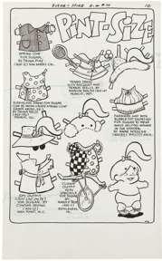 SHELDON MAYER - SUGAR & SPIKE #70 2-PAGE STORY ORIG ART
