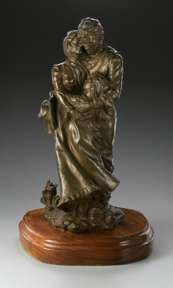 EDWARD J. FRAUGHTON - EMBRACING FAMILY BRONZE 20/50