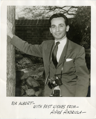 ALFRED ANDRIOLA SIGNED PHOTOGRAPH - KERRY DRAKE / CHAN