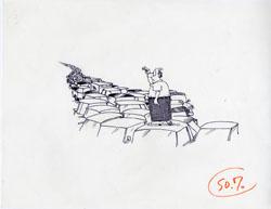 JOHN CALDWELL - MAD #284 NICE DAY: GRIDLOCK ORIG ART