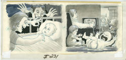 AL JAFFEE - MAD #231 PHOTOS: NEW BABY ORIG ART