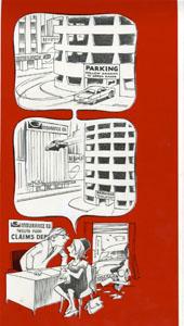 BOB CLARKE - MAD #190 PARKING/INSURANCE ORIGINAL ART