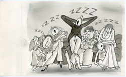 P.P.  PORGES - MAD #227 SLOW/LAZY: SLEEP THERAPY ART