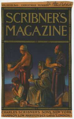 MAXFIELD PARRISH - SCRIBNER'S MAGAZINE Cover Dec. 1900