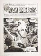 JOE ORLANDO - CREEPY #15 CMPLT 7-PG ADAM LINK STORY ART