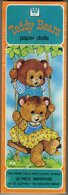 TEDDY BEARS PAPER DOLL SET (1979) FACTORY-SEALED IN BOX