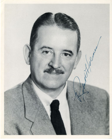 OREGAN GOVERNOR ROBERT D. HOLMES SIGNED PHOTOGRAPH 1959