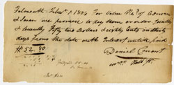 1804 AMERICAN COLONIAL DOCUMENT - PROMISSORY NOTE