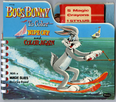 BUGS BUNNY MAGIC SLATE DRAWING BOARD/BOOK - RH ARCHIVE