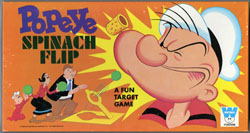 POPEYE SPINACH FLIP BOARD GAME (Whitman 1969) OLIVE OYL