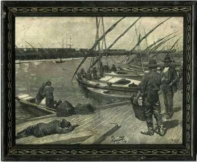 HENRY FRANCIS FARNY - Orig ENGRAVING - 1883