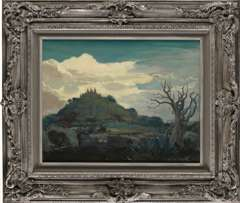 JOHN WILLIAM ORTH - Landscape of TAXCO MEXICO