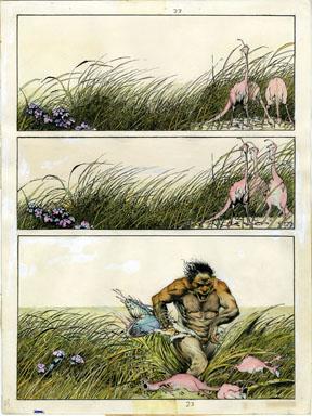 ARTHUR SUYDAM - EPIC ILLUSTRATED #1 PAGE 1 ORIG ART