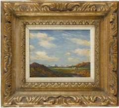 ALBERT LOREY GROLL - Original LANDSCAPE Painting c1904