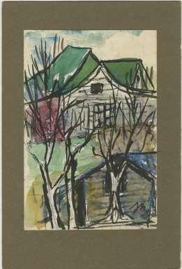 JOSEPHINE MAHAFFEY (1903-1982) - LANDSCAPE Image TEXAS