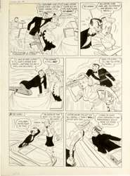 VIC HERMAN - LOVE ADVICE #1 COMPLETE 2-PAGE ORIG ART