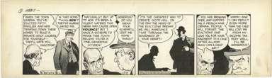 RAEBURN VAN BUREN - ABBIE & SLATS DAILY ORIG ART 5-7-46
