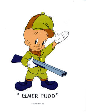 ELMER FUDD - WB CARTOON ANIMATION PROMO PRINT (1971)