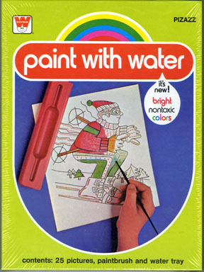 PIZZAZ PAINT WITH WATER SET - Random House FILE COPY