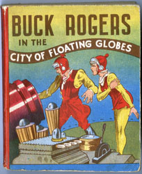 BIG LITTLE BOOK - BUCK ROGERS CITY OF FLOATING GLOBES