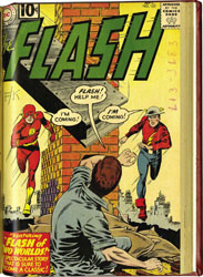 THE FLASH #105 - 149  SET OF 2 BOUND VOLUMES Silver Age