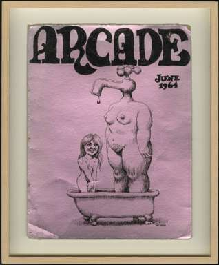 ROBERT CRUMB - ARCADE COVER (June 1964) ORIGINAL ART
