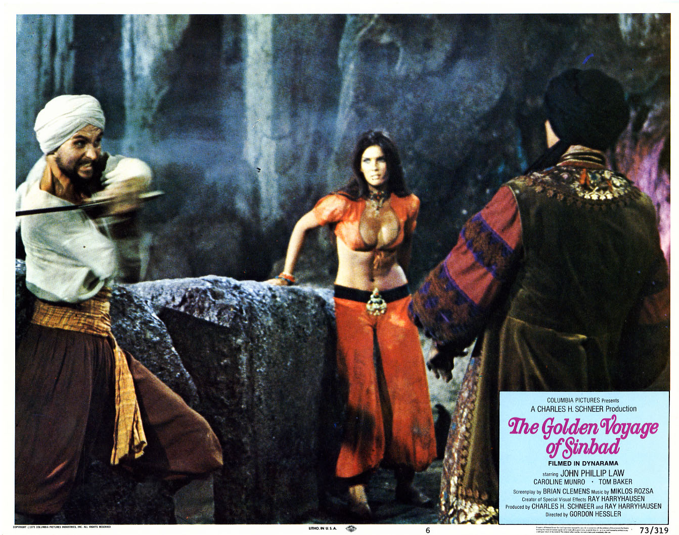 Image result for the golden voyage of sinbad